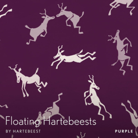 Floating Hartebeests - Purple