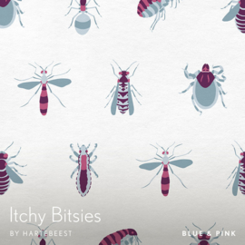 Itchy Bitsies - Blue & Pink