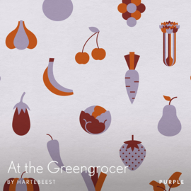 At the Greengrocer - Purple