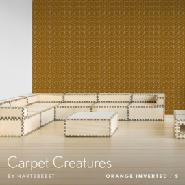 Carpet Creatures - Orange Inverted