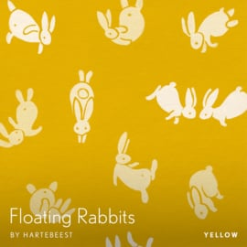 Floating Rabbits - Yellow