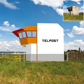 Telpost Millingen: van boek naar gebouw