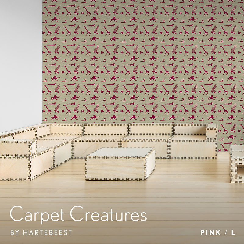 Carpet Creatures - Pink