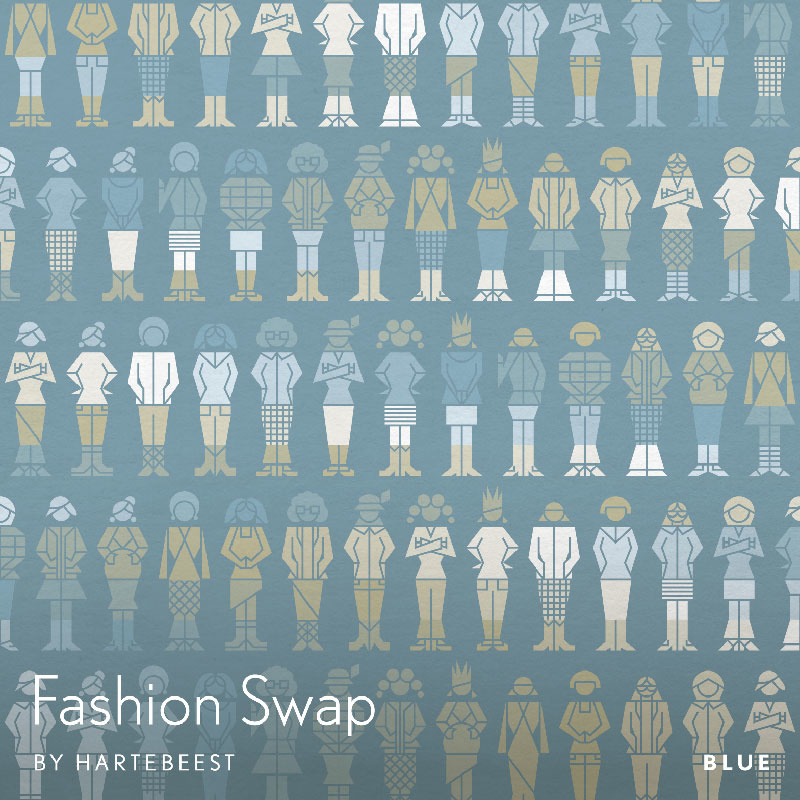 Fashion Swap - Blue