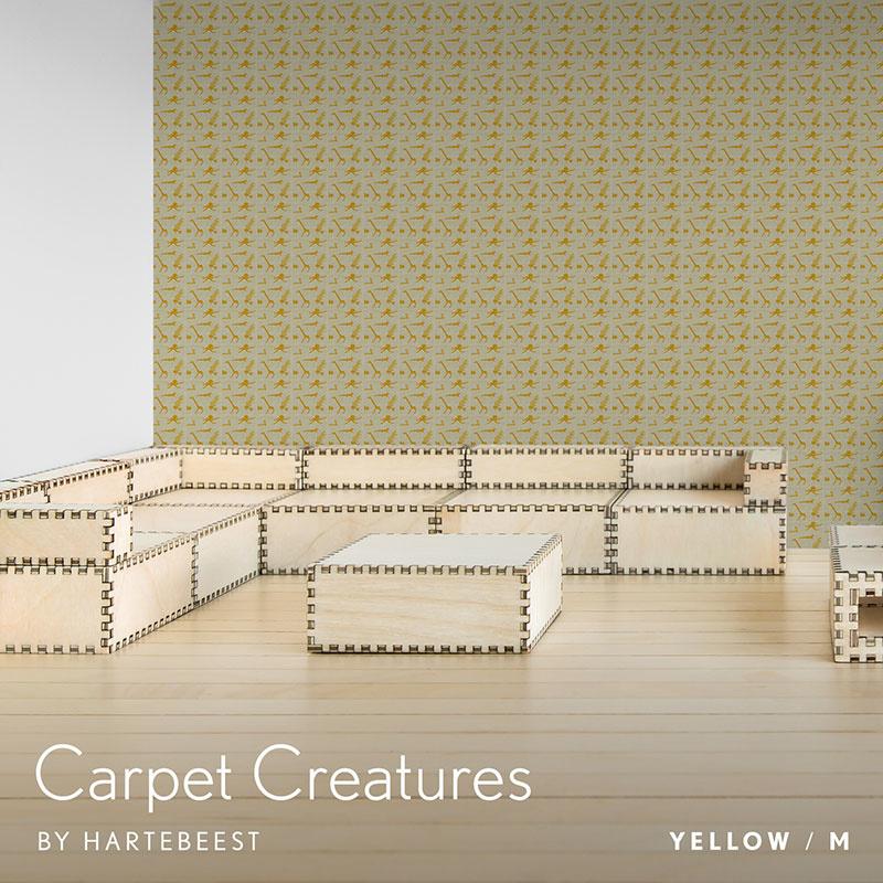 Carpet Creatures - Yellow