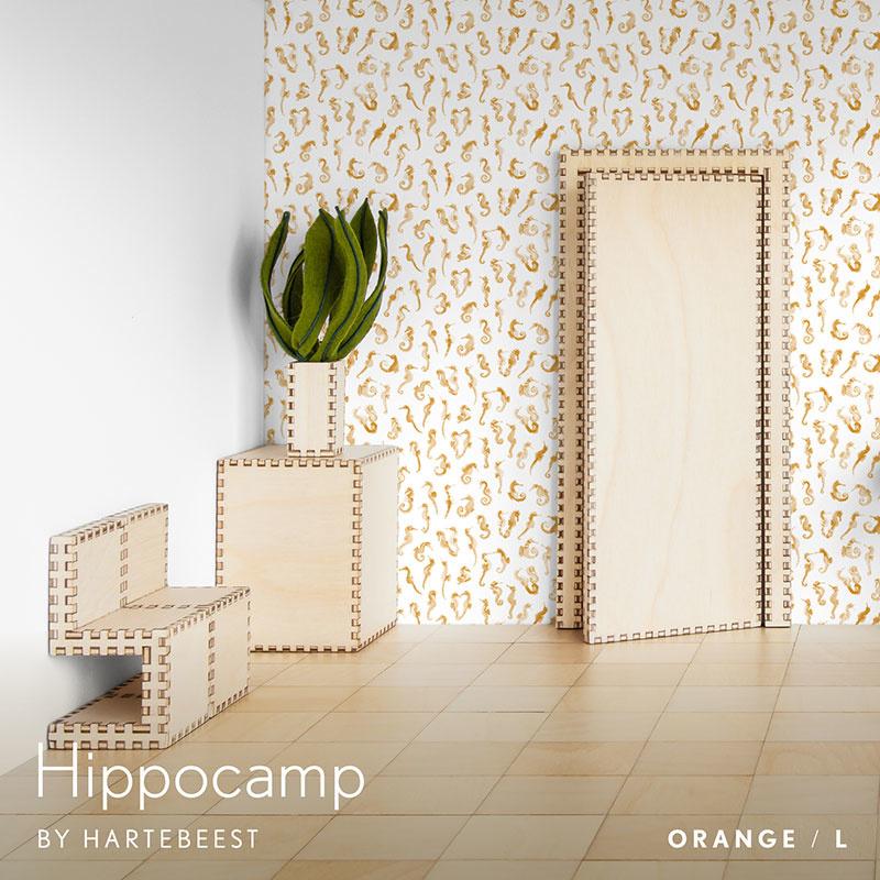 Hippocamp - Orange