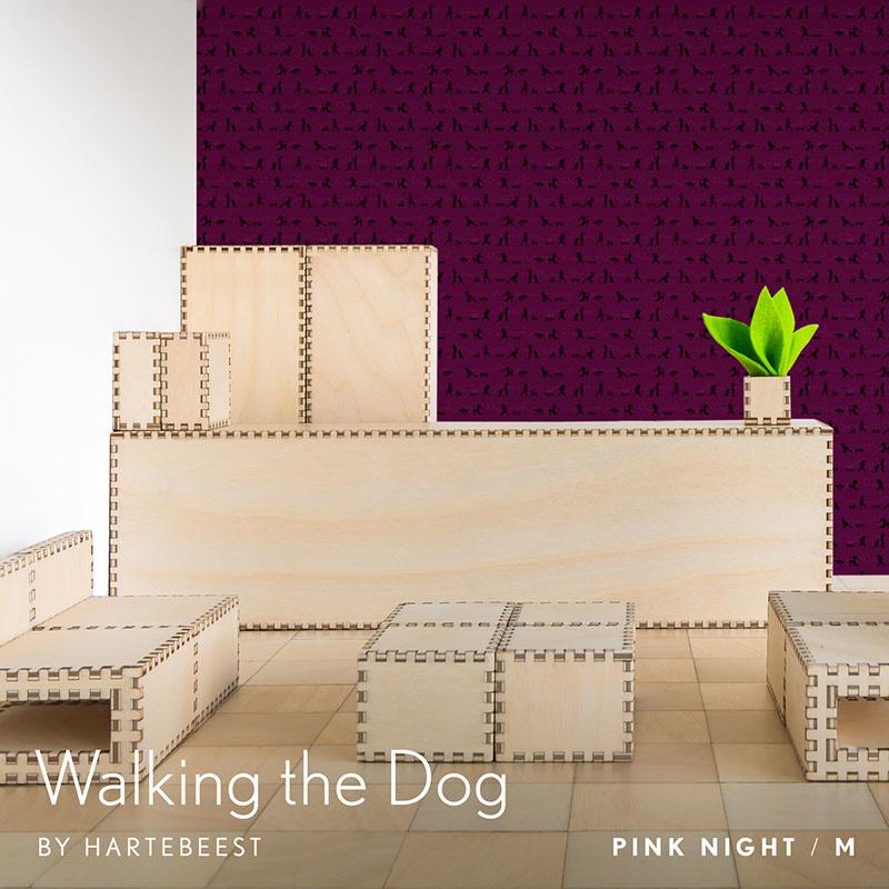 Walking the Dog  - Pink Night