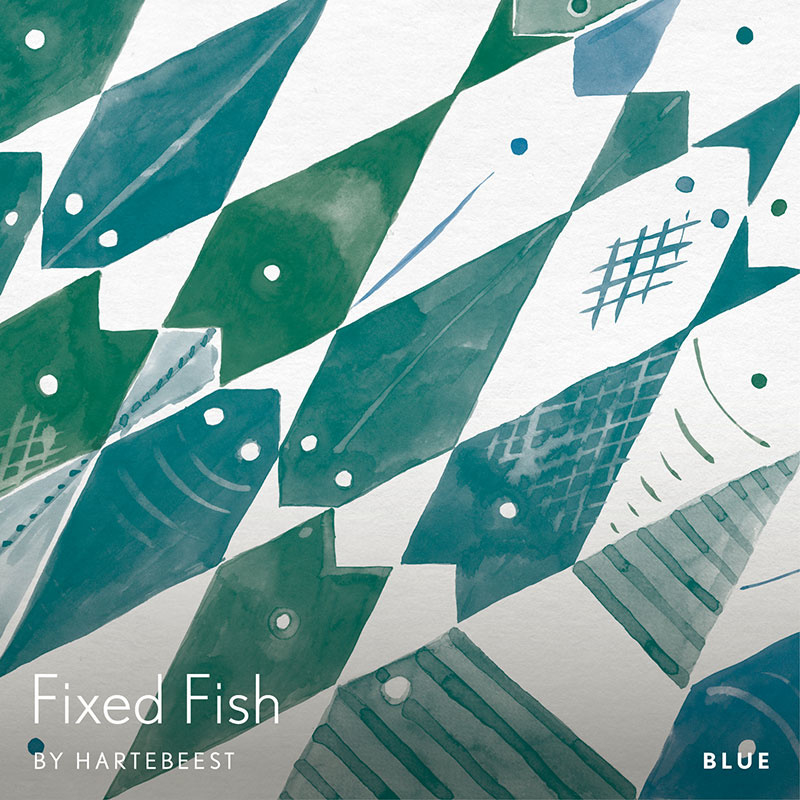 Fixed Fish - Blue