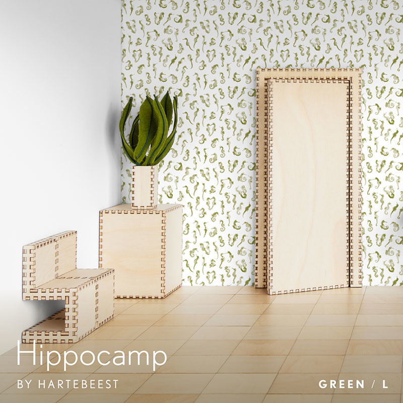 Hippocamp - Green
