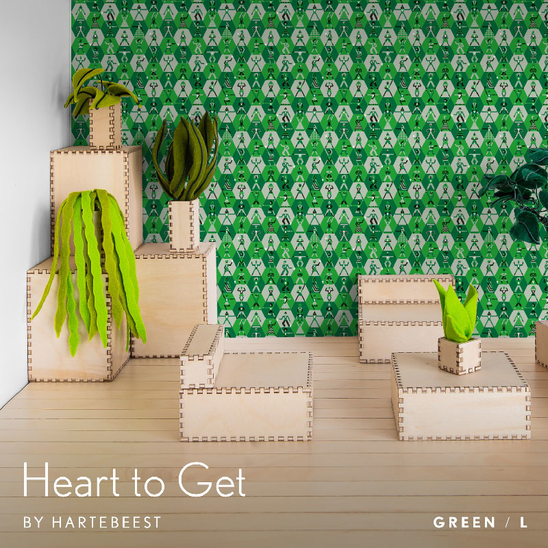 Heart to Get - Green