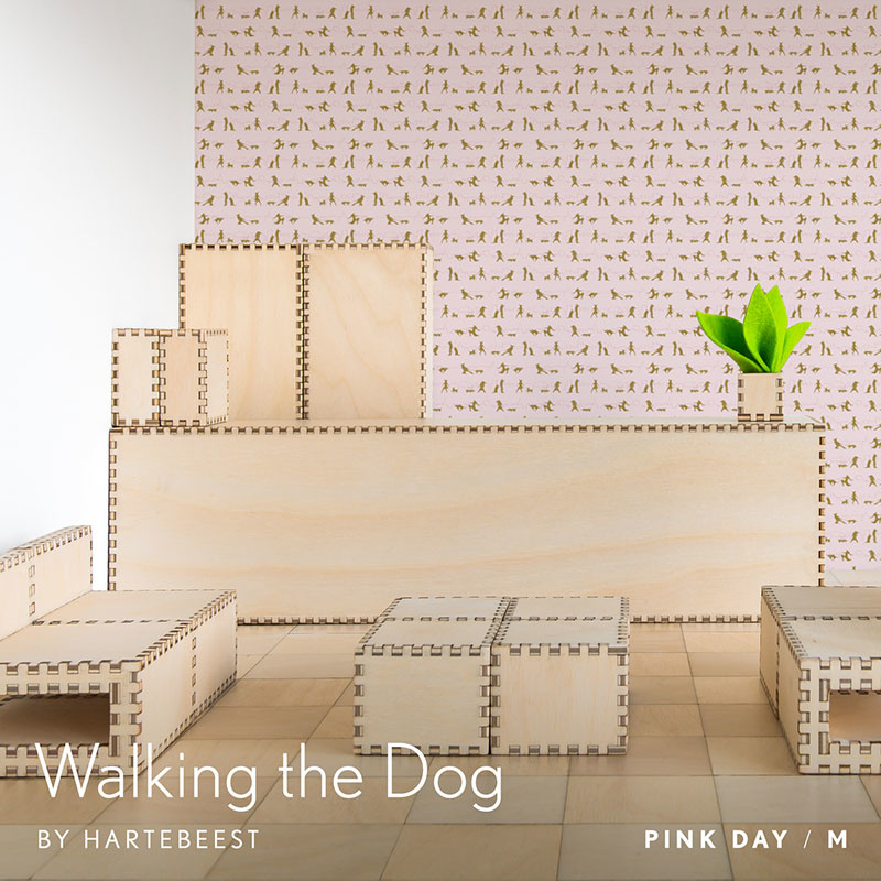 Walking the Dog  - Pink Day