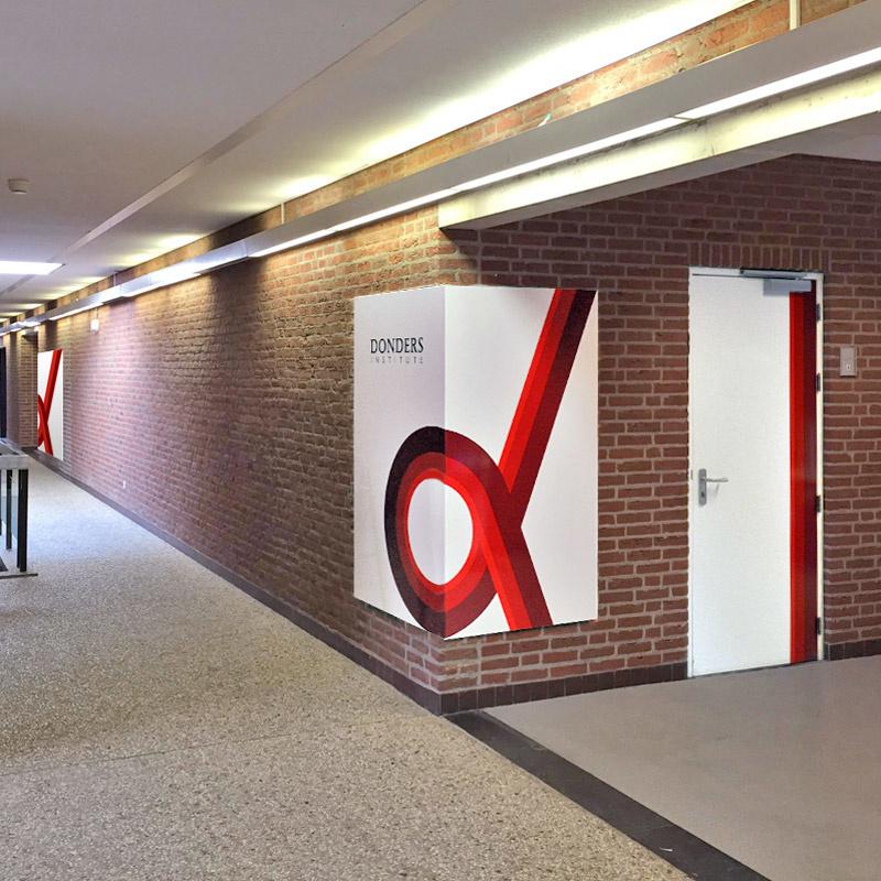 Donders Institute: van huisstijl naar interieur