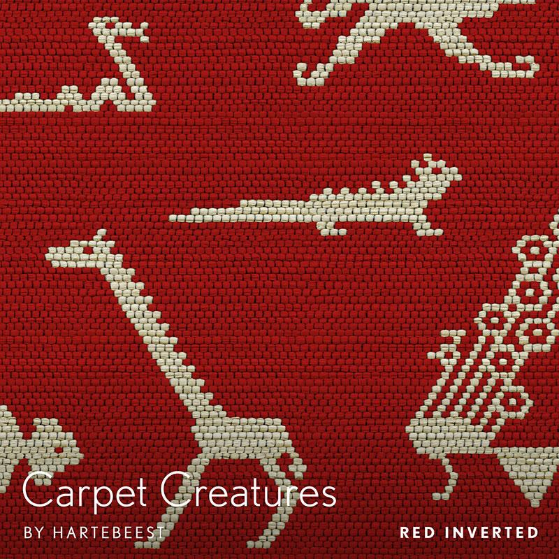 Carpet Creatures - Red Inverted