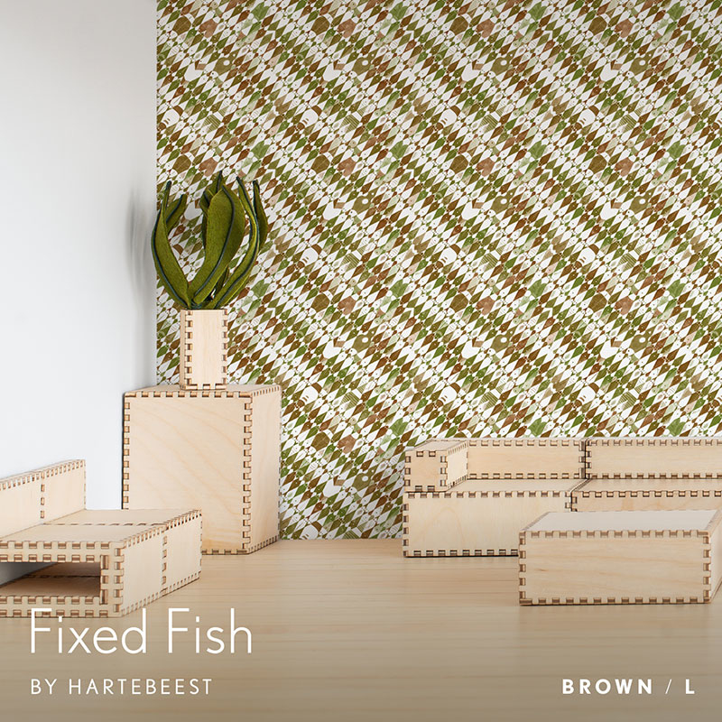 Fixed Fish - Brown