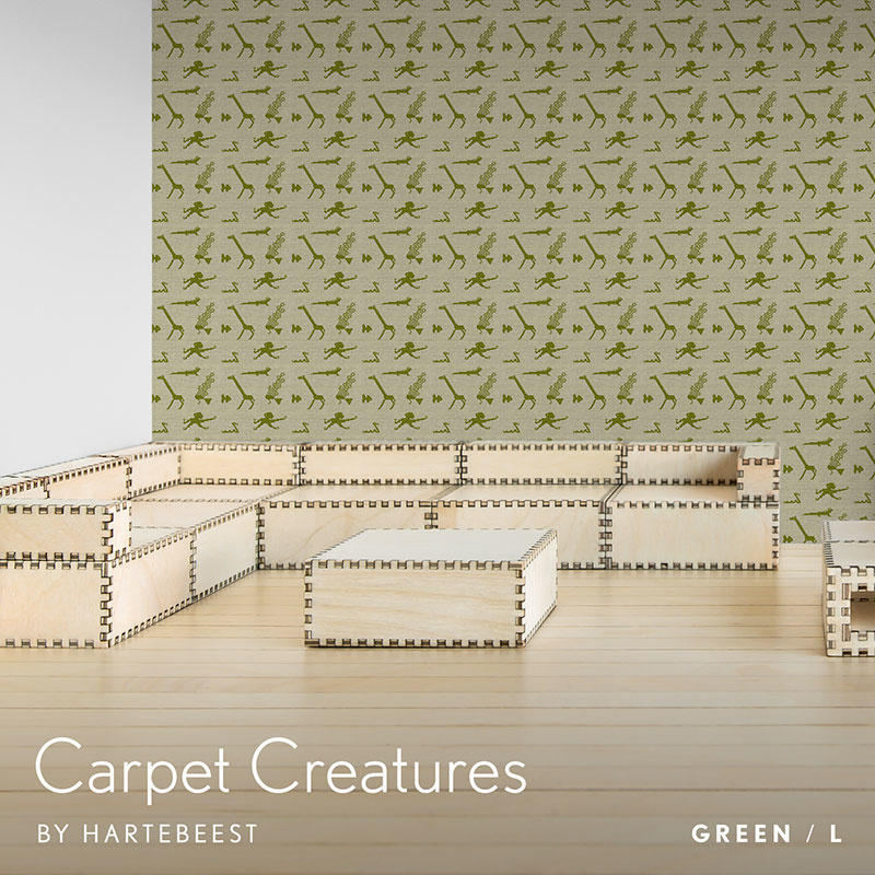 Carpet Creatures - Green