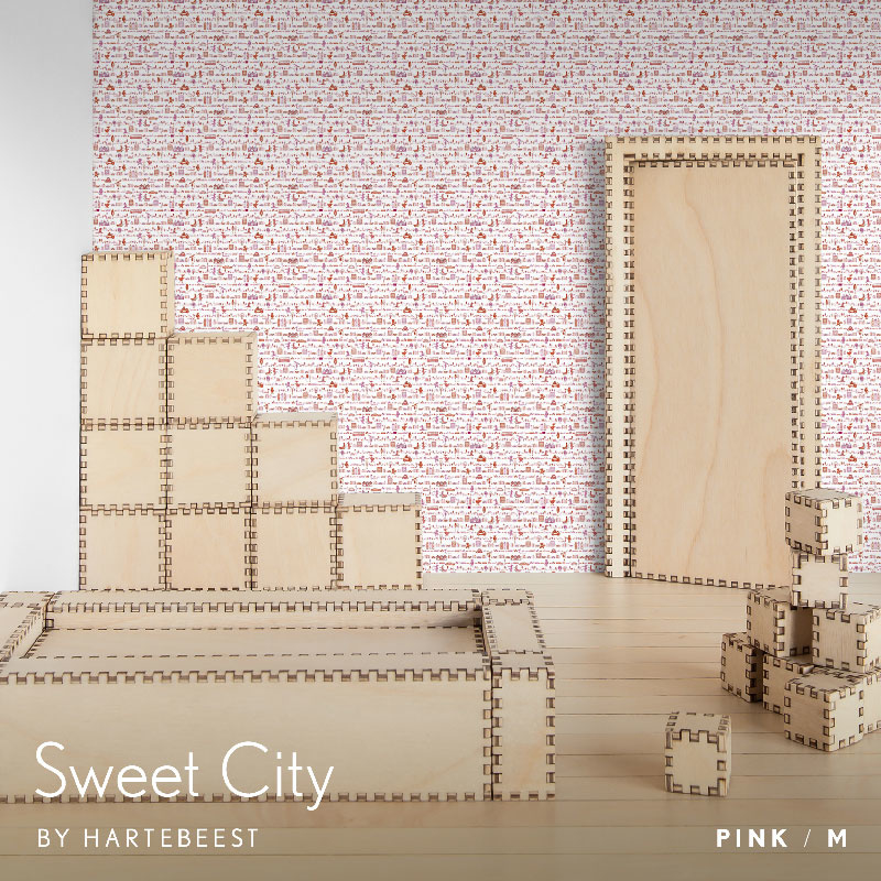 Sweet City - Pink
