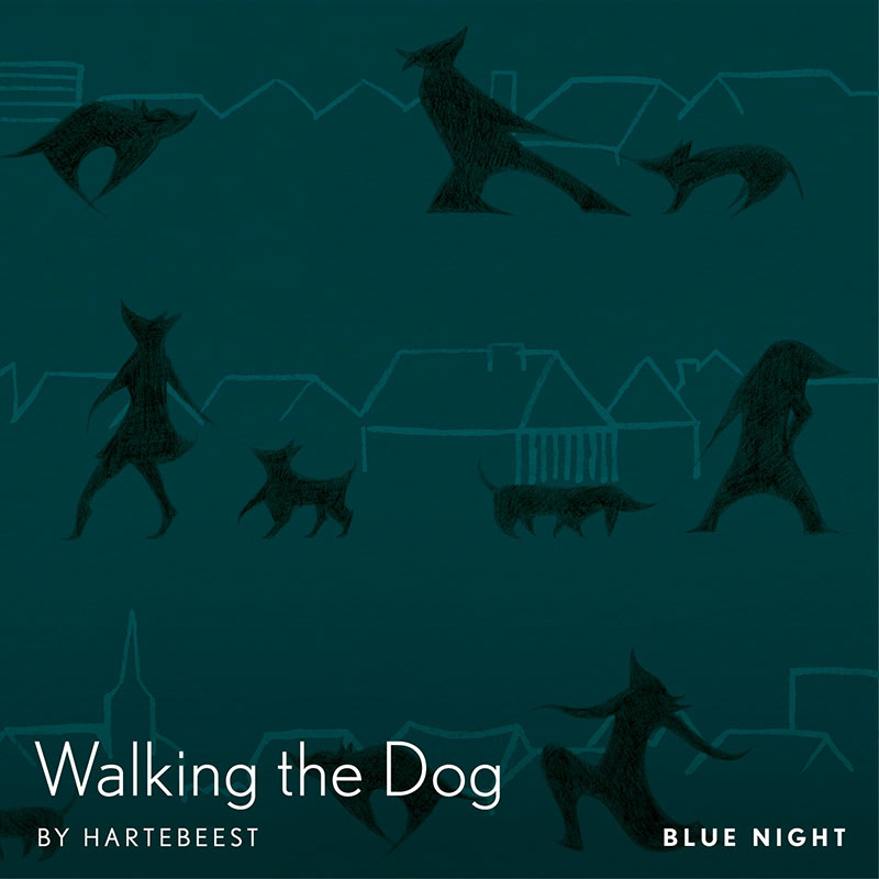 Walking the Dog  - Blue Night