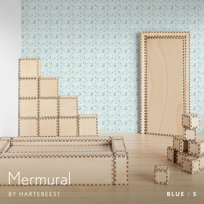 Mermural - Blue