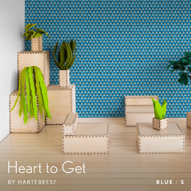 Heart to Get - Blue