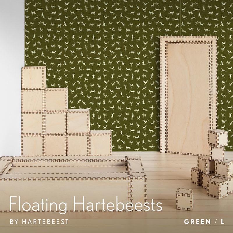 Floating Hartebeests - Green