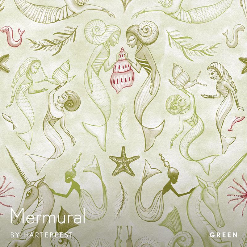 Mermural - Green