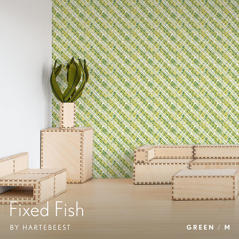 Fixed Fish - Green