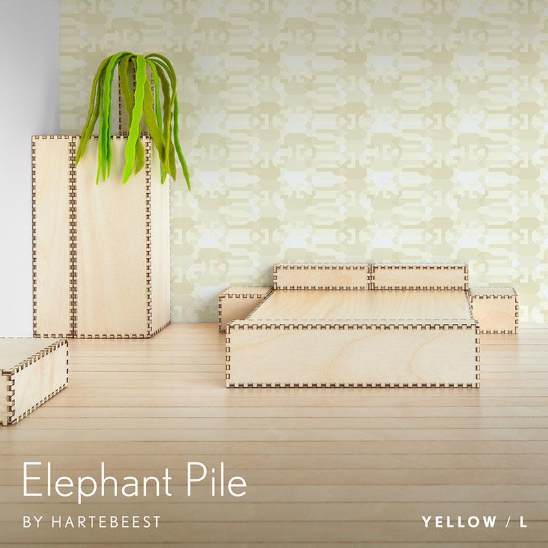 Elephant Pile - Yellow
