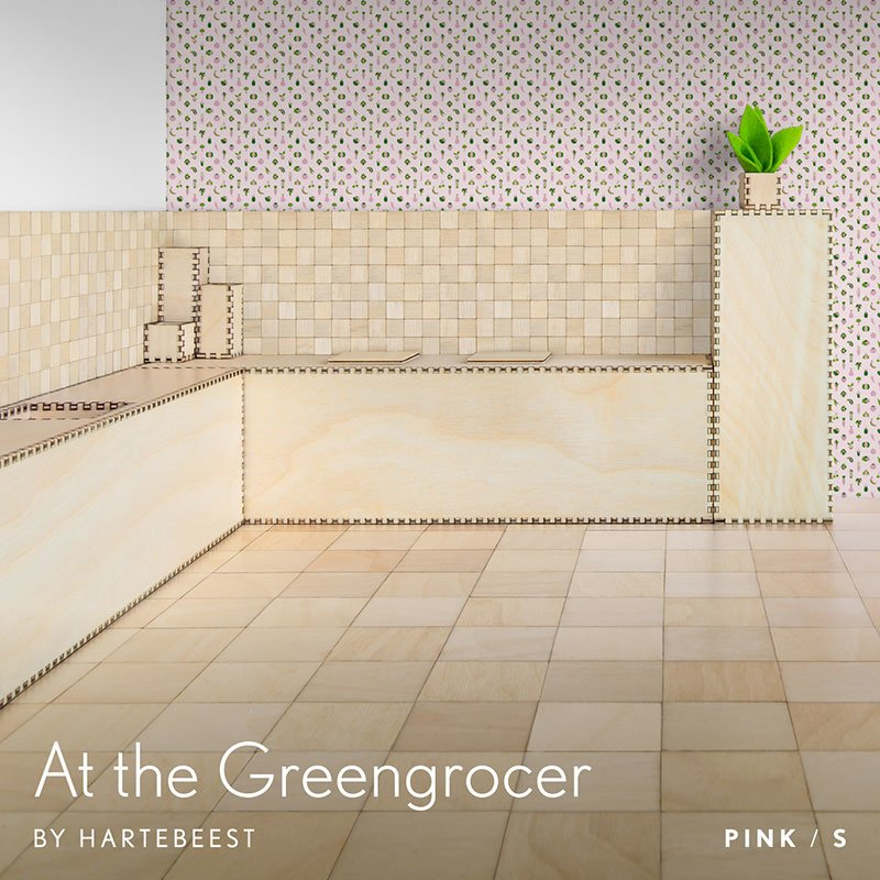 At the Greengrocer - Pink