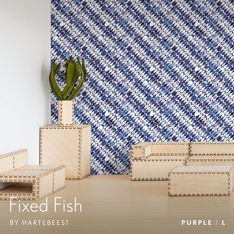 Fixed Fish - Purple