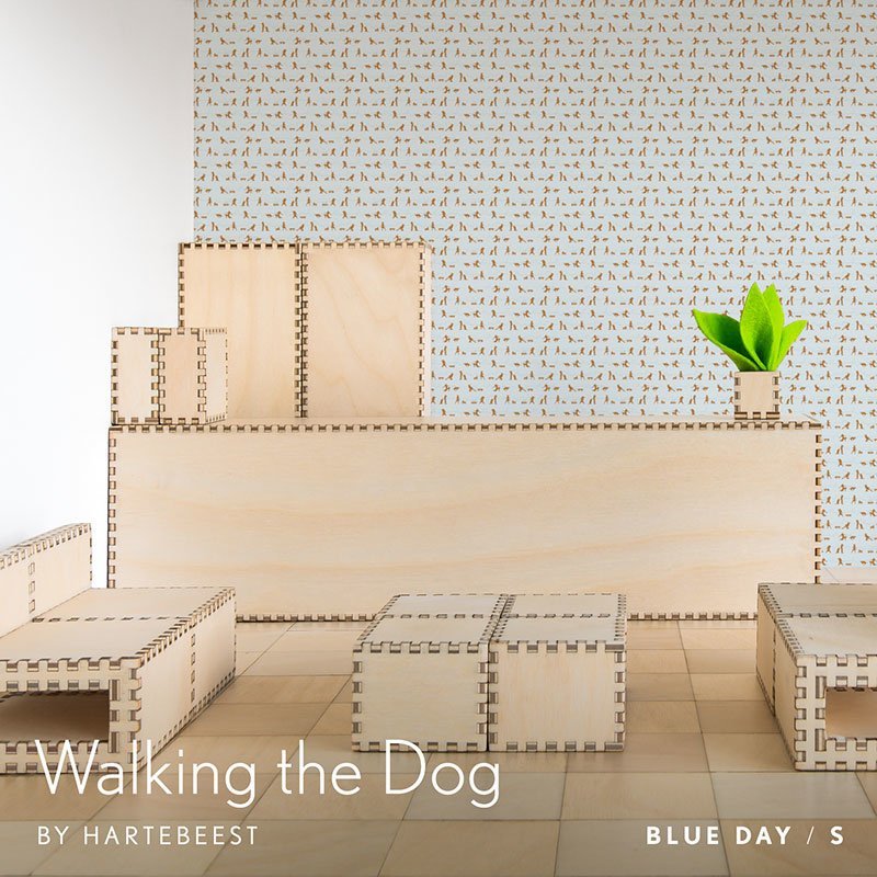 Walking the Dog  - Blue Day