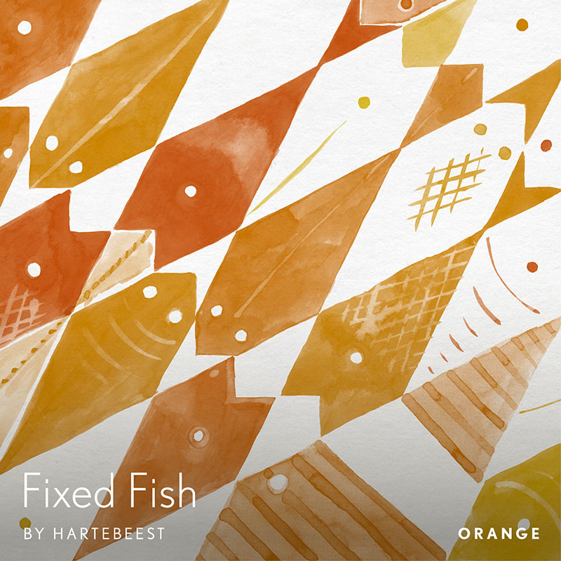 Fixed Fish - Orange