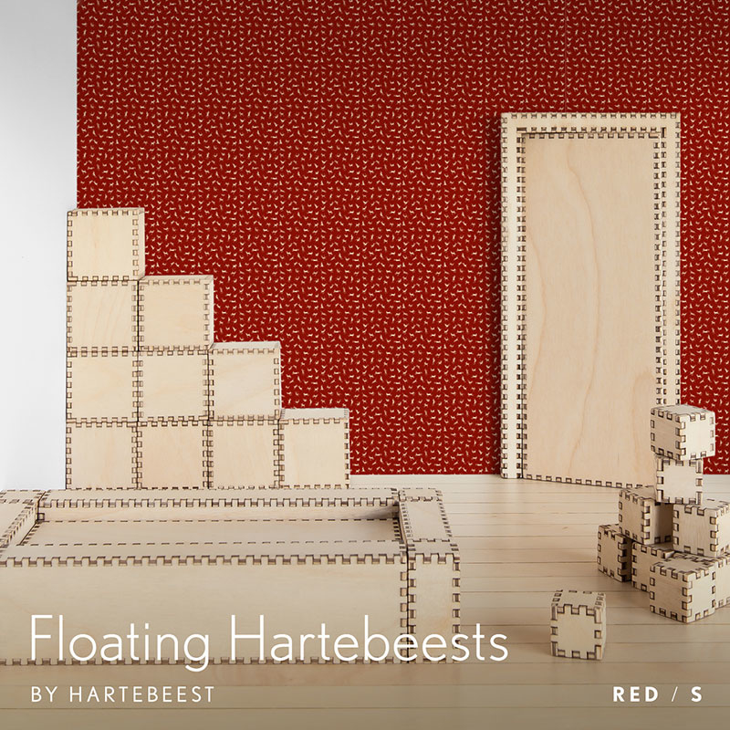 Floating Hartebeests - Red