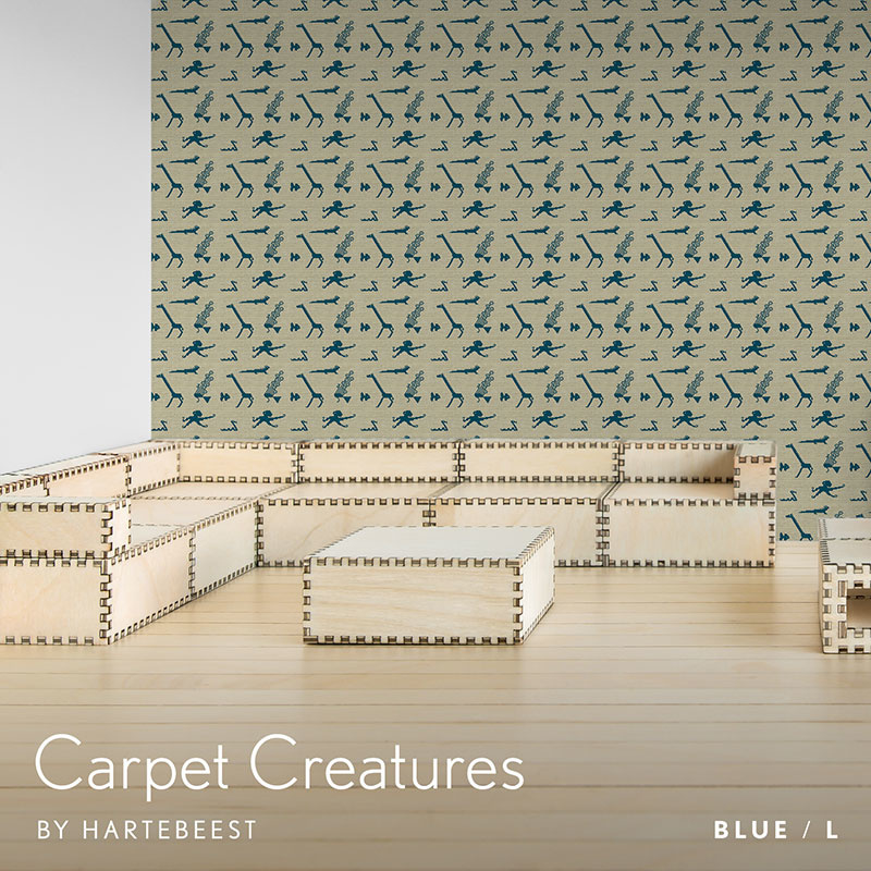 Carpet Creatures - Blue