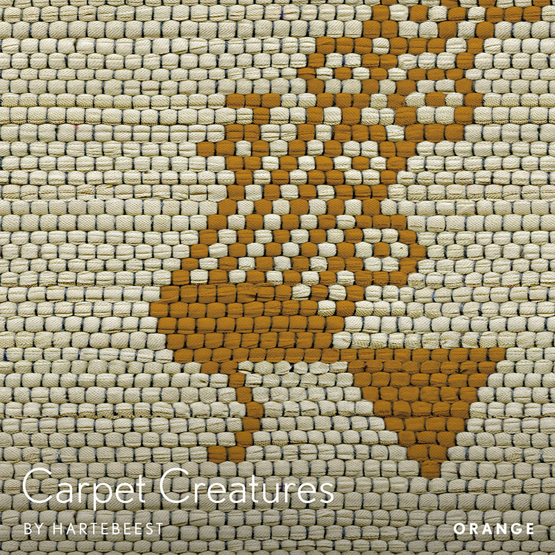 Carpet Creatures - Orange