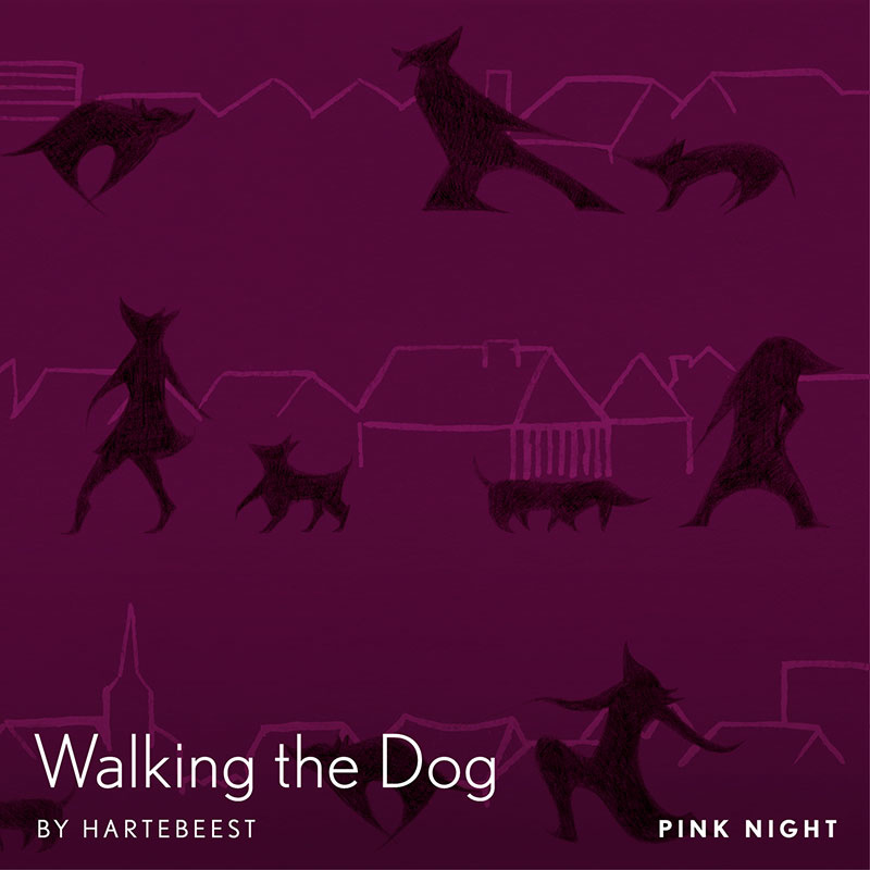 Walking the Dog  - Pink Night