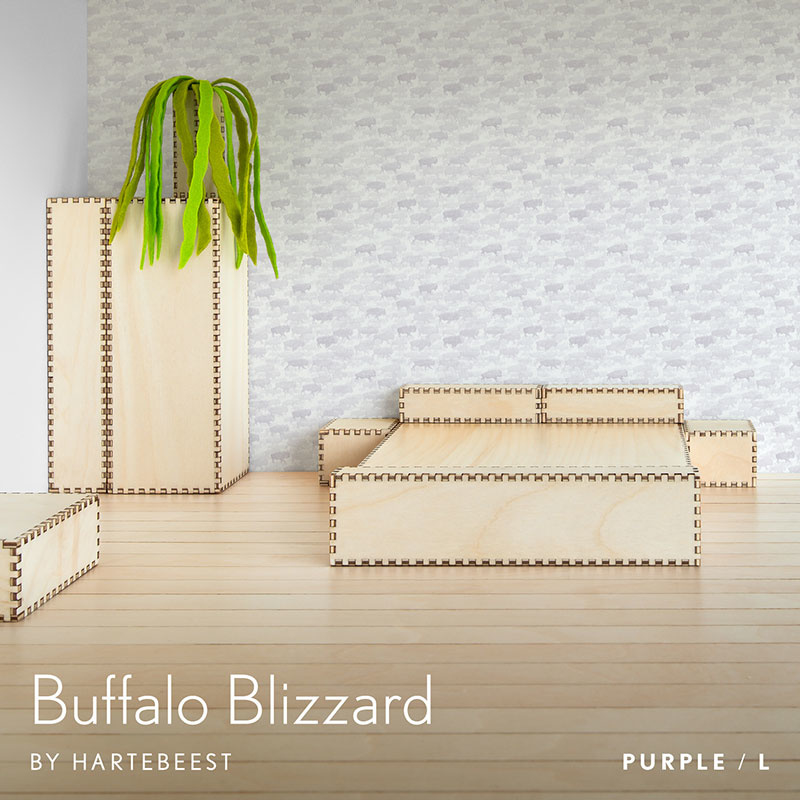 Buffalo Blizzard - Purple