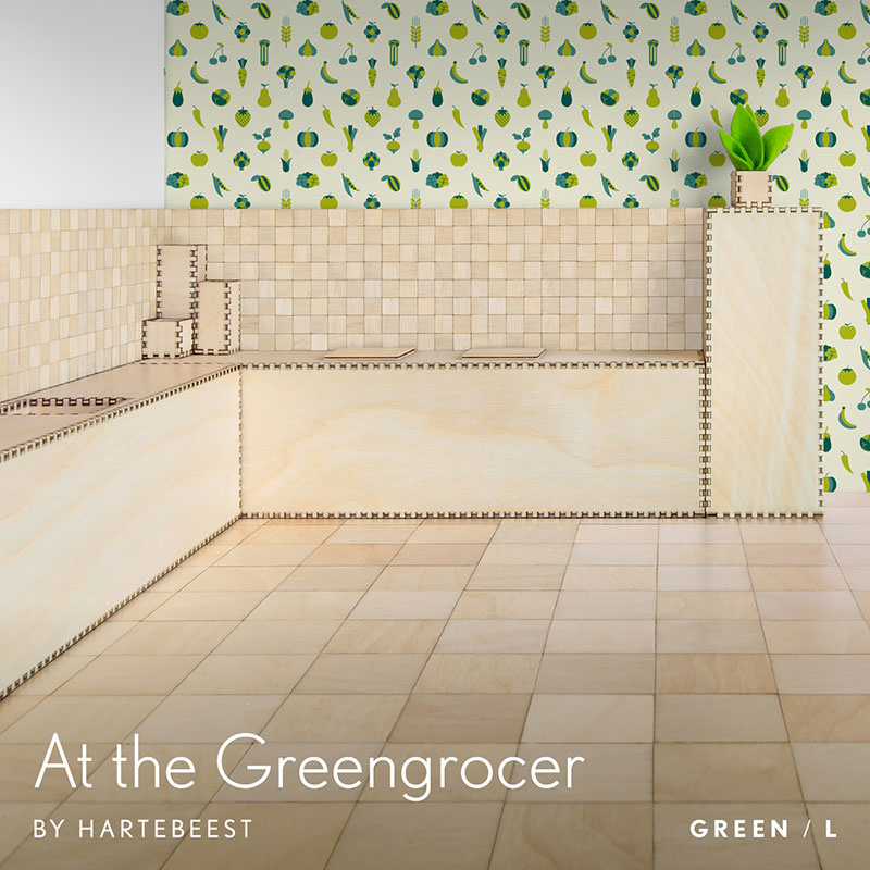At the Greengrocer - Green