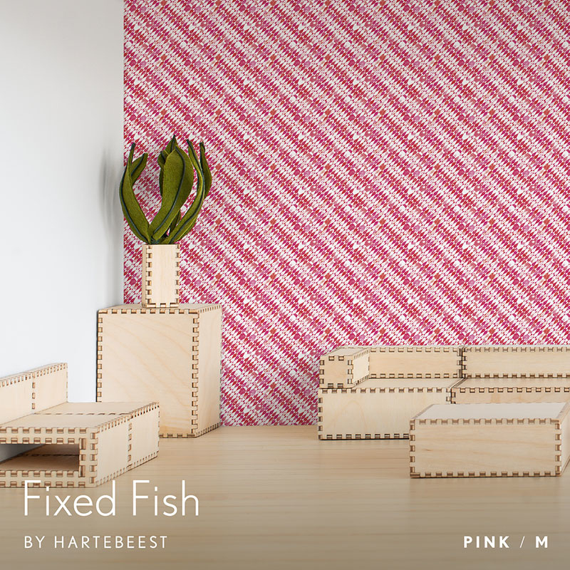 Fixed Fish - Pink