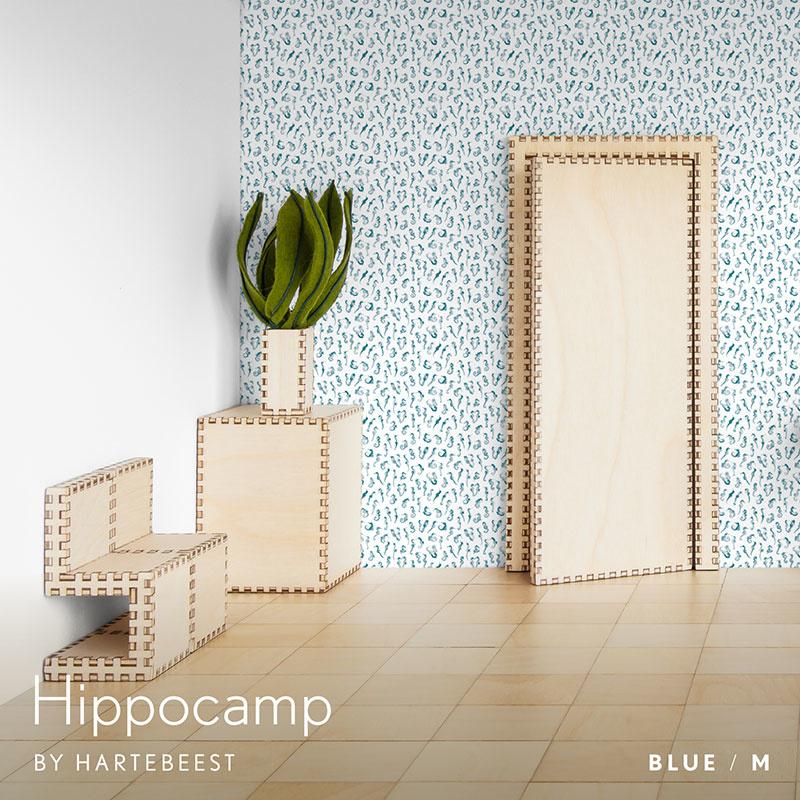 Hippocamp - Blue