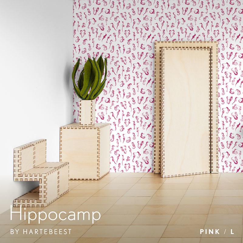 Hippocamp -Pink