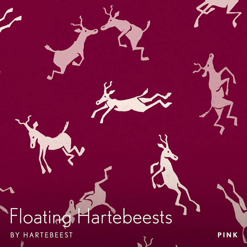 Floating Hartebeests - Pink