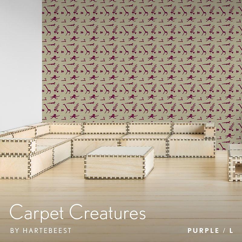 Carpet Creatures - Purple