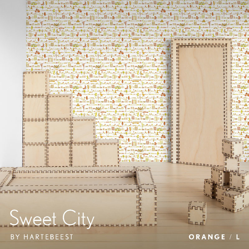 Sweet City - Orange