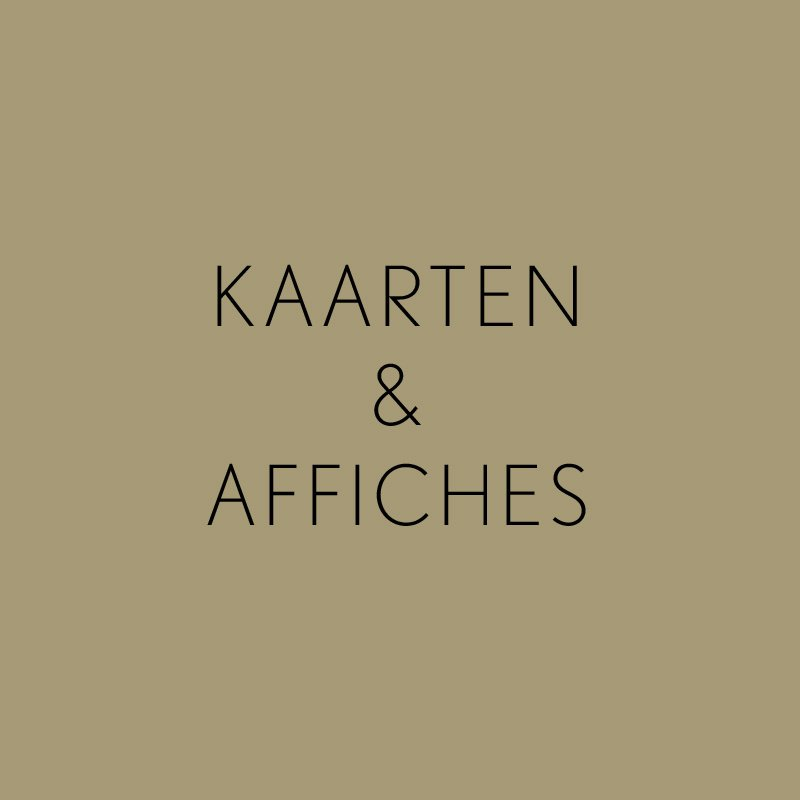 Kaarten & Affiches