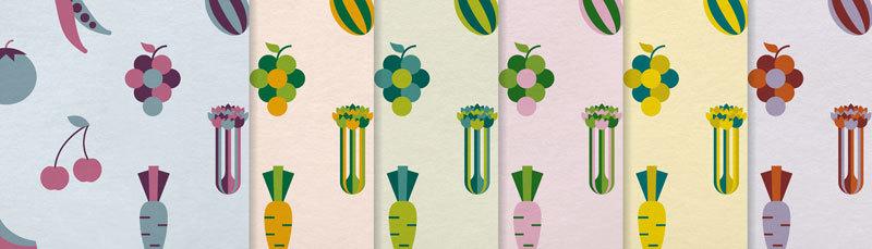 At the Greengrocer is verkrijgbaar in zes kleuren