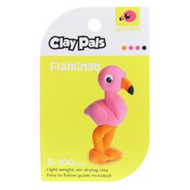 Clay Pals Kleisetje Flamingo