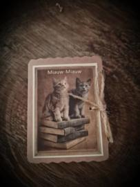 Zeepdoosje Miauw Miauw