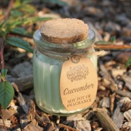 Geurkaars pot Komkommer