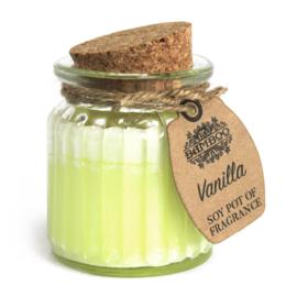 Geurkaars pot Vanilla