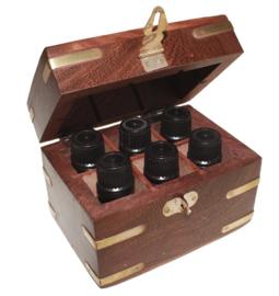 Aromatherapie Opbergdoos Sheesham-hout